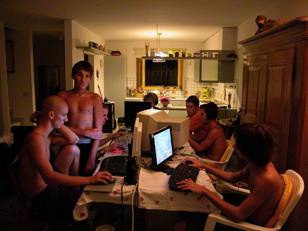 Lan party da Fabrizio